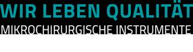 Das Logo zum Strub-Leitbild zeigt den Slogan: Wir leben Qualität